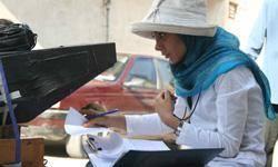 زهرا درمنش فيلم مستند فوتبال بانوان در ايران را ميسازد