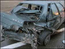 هر ساعت سه ایرانی در حوادث رانندگی میمیرند