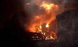 يك خودروي پژو 405 ديگر در آبادان آتش گرفت