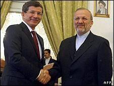 ترکیه: با تحریم احتمالی ایران مبارزه می کنیم