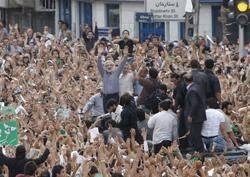 حضور میرحسین موسوی در راهپیمایی روز قدس