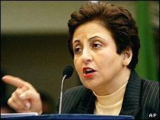 انتقاد شیرین عبادی از سیاست بریتانیا و غرب در قبال ایران
