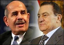 عزم جدی مخالفان برای حذف مبارک/ البرادعی نامزد ریاست جمهوری مصر