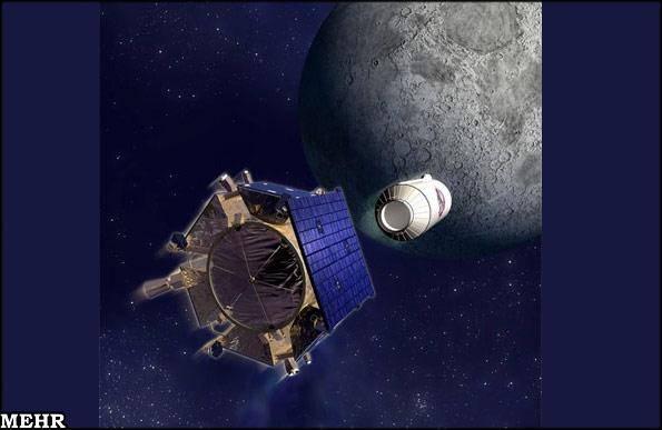 تصایری از برخورد با ماه