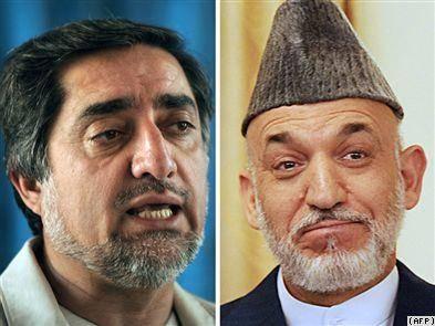 انتخابات رياست جمهورى افغانستان به دور دوم كشيده شد