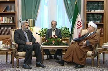 دیدار آیت الله هاشمی رفسنجانی با هیئت حرکت اسلامی عراق