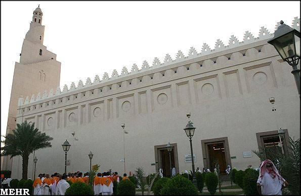 گزارش تصویری/ احرام زائران در مسجد شجره حوالی مدینه منوره