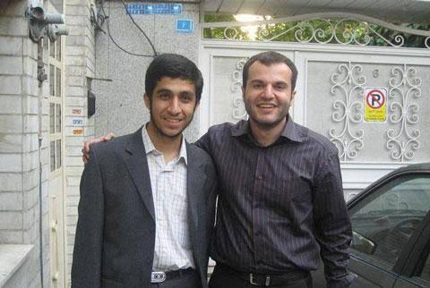 عکس: مشایی و احمدی نژاد کوچک