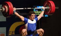 مرادي حضور در مسابقات وزنهبرداي جهاني را از دست داد