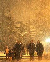 زمان موج دوم بارش برف و باران در تهران
