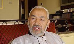 """""""راشد الغنوشي"""" پس از 22 سال تبعيد به وطن بازگشت"""