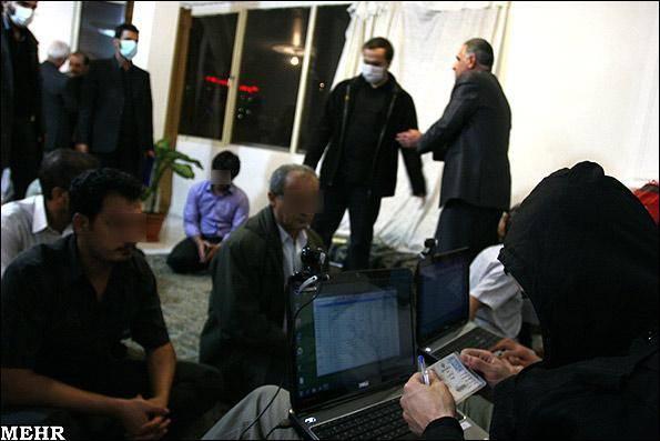 دستگیری اعضای شرکت های هرمی (تصویری)