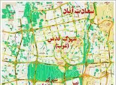 داستان احمد و سامان در سعادت آباد تهران