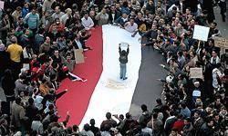 آخرين گزارشها از وضعيت ميدان آزادي در مركز شهر قاهره