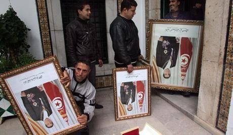 وزیر کشور تونس فعالیت حزب بن علی را به حالت تعلیق درآورد
