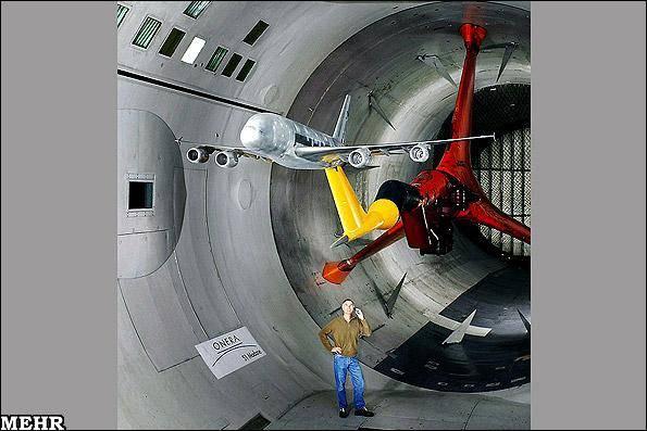 تصاویر سفر به درون بزرگترین تونل بادی دنیا/ سرعت باد 12 برابر صوت!
