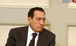 مبارك 3ساعت قبل از سخنراني از قاهره به شرمالشيخ رفت