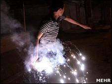 تدابیر امنیتی برای چهارشنبه سوری در ایران