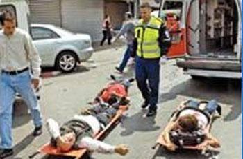 جهاد اسلامی: عملیات شهادت طلبانه، پاسخی به جنایات اسرائیل نتانیاهو سفرش را به روسیه به تاخیر انداخت بر اثر انفجار در اتوبوسی در حومه بیت المقدس دست کم30 نفر زخمی شدند.