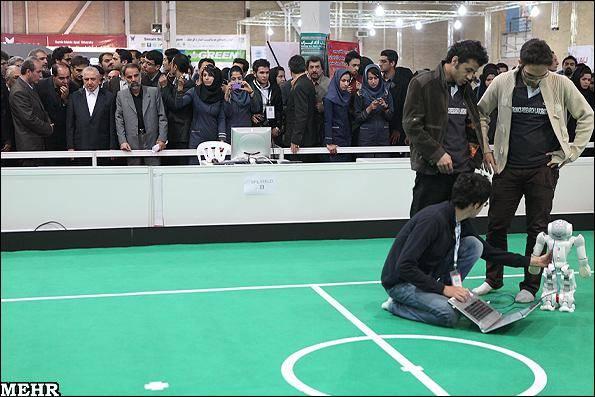 گزارش تصویری/ ششمین دوره مسابقات بینالمللی ربوکاپ آزاد ایران