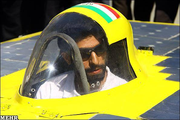 گزارش تصویری/ رونمایی دومین خودروی خورشیدی غزال ایرانی -2