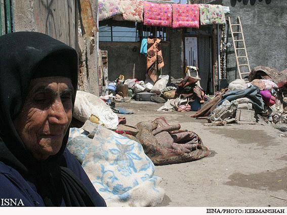 گزارشی از یک محله محروم در کرمانشاه (+عکس)