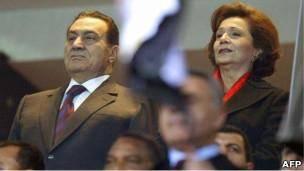 همسر حسنی مبارک آزاد شد