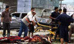 30 كشته و 100 زخمي آمار نهايي انفجارهاي عراق