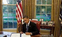 اوباما مجوز استراق سمع از مردم آمريكا را امضا كرد