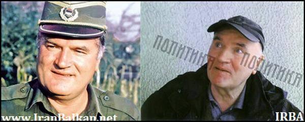 عکس/ چهره جنایتکار صرب پس از بازداشت