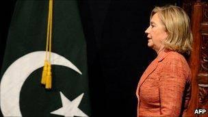 کلینتون: سندی در مورد آگاهی پاکستان از محل بن لادن وجود ندارد