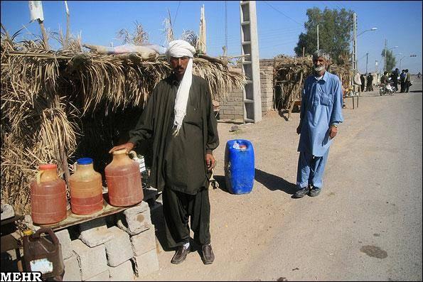 عکس خبری/ منطقه محروم و کپر نشین جنوب کرمان