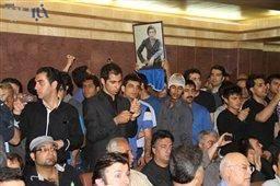 پوری بنایی مهمان ویژه مراسم هفت ناصرحجازی+عکس