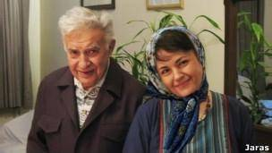 هاله سحابی در پی حمله مأموران به تشییع جنازه پدرش درگذشت