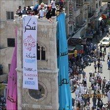 حداقل ۲۰ کشته در دور تازه اعتراضات سوریه