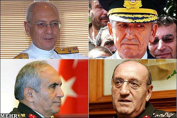 فرماندهان ارشد ارتش ترکیه منصوب شدند/ عبدالله گل به شایعات پایان داد