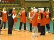 تیم والیبال دانش آموزان دختر ایران در جمع چهار تیم برتر آسیا