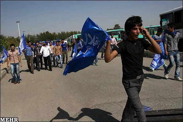 گزارش تصویری / حاشیه دیدار تیم های فوتبال استقلال و تراکتورسازی تبریز