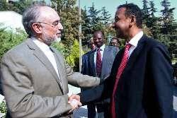 ديدار فرستاده ويژه رييس جمهوري سودان با وزير امور خارجه