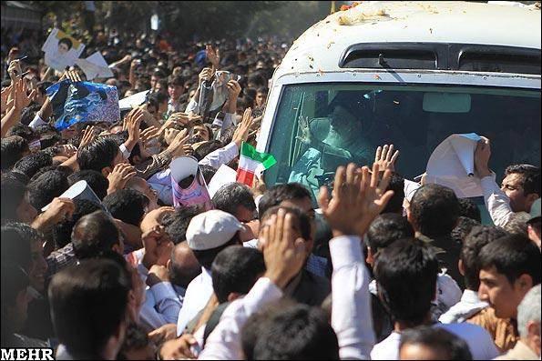 گزارش تصویری / سفر مقام معظم رهبری به کرمانشاه