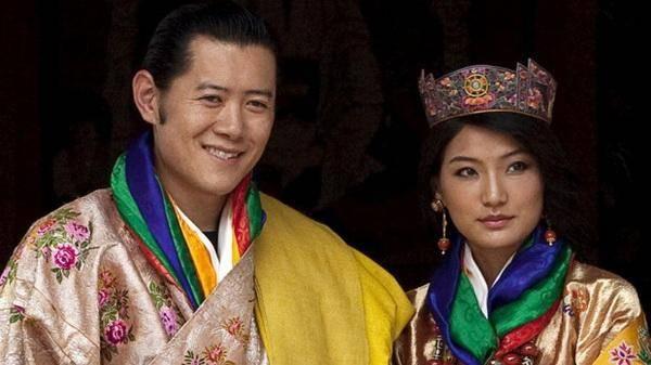 تصاویر/ عروسی سلطنتی متفاوت در بوتان