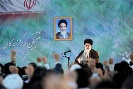 دیدار منتخبین و برگزیدگان استان کرمانشاه با رهبر انقلاب