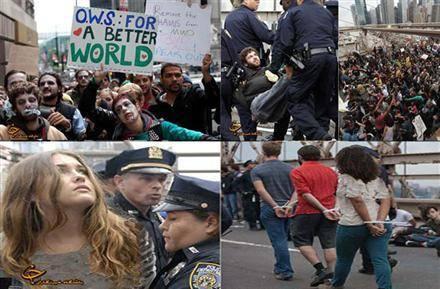 دستگيري مردم در نيويورك به خاطر بستن حساب در بانك!