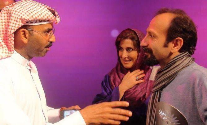 عكس/فرهادی ومعتمدآریا در جشنواره ابوظبی