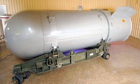 قویترین بمب اتمی قدیمی آمریکا از بین رفت