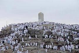 مراسم برائت ازمشرکان تا ساعتی دیگر درصحرای عرفات