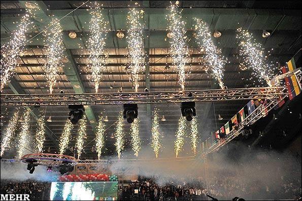 گزارش تصویری / افتتاحیه مسابقات جهانی توآ در شیراز