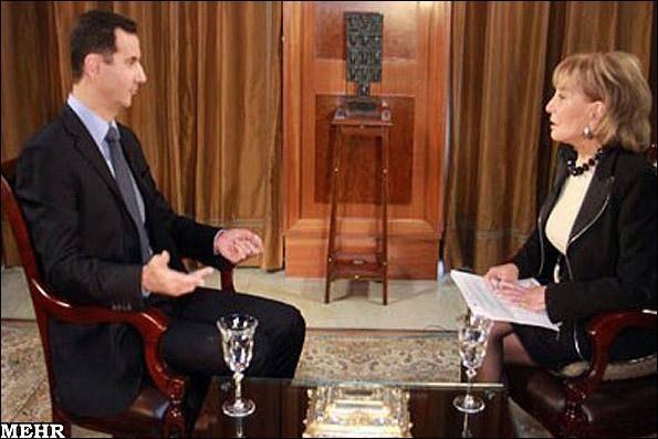 جزئیات گفتگوی اسد با شبکه ای.بی.سی/ سفیر آمریکا معاهده ژنو را مطالعه کند