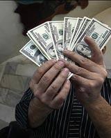 دلارهای تقلبی تانخورده در بازار