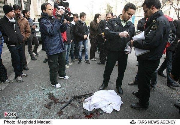 تصاویری از انفجار تروریستی در تهران